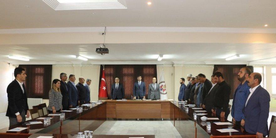 Bitlis Belediye Meclisinden 'Barış Pınarı Harekâtı'na destek