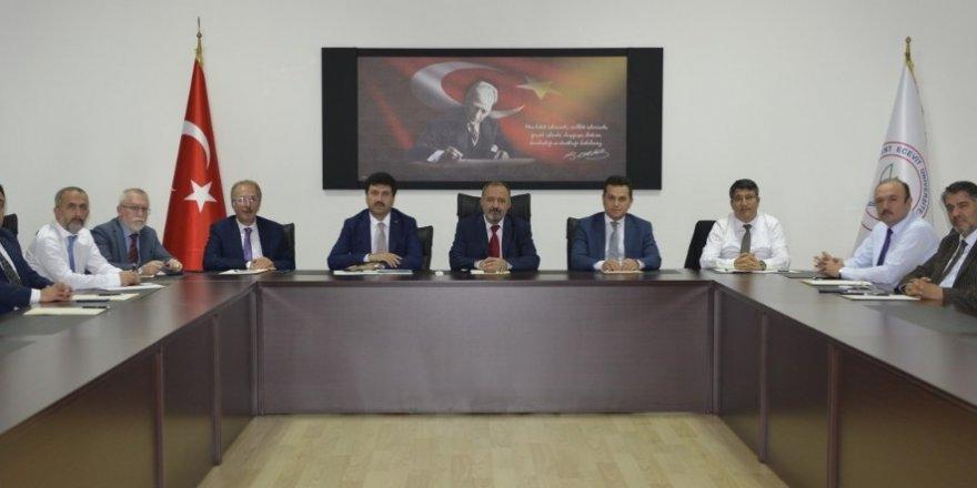 ZBEÜ Batı Karadeniz Üniversiteleri Birliği toplantısına ev sahipliği yaptı
