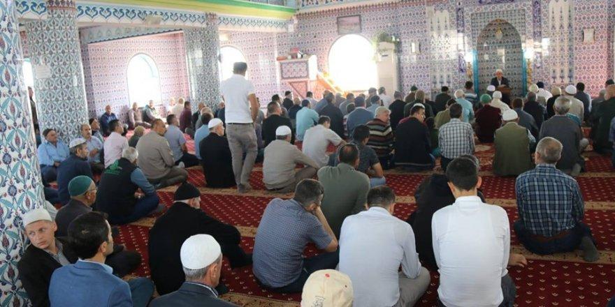 Ergene'de dualar Mehmetçikler için