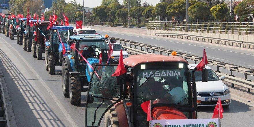 Çiftçilerden harekâta destek