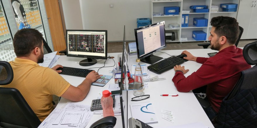 Mimari projeler  dijital ortamda
