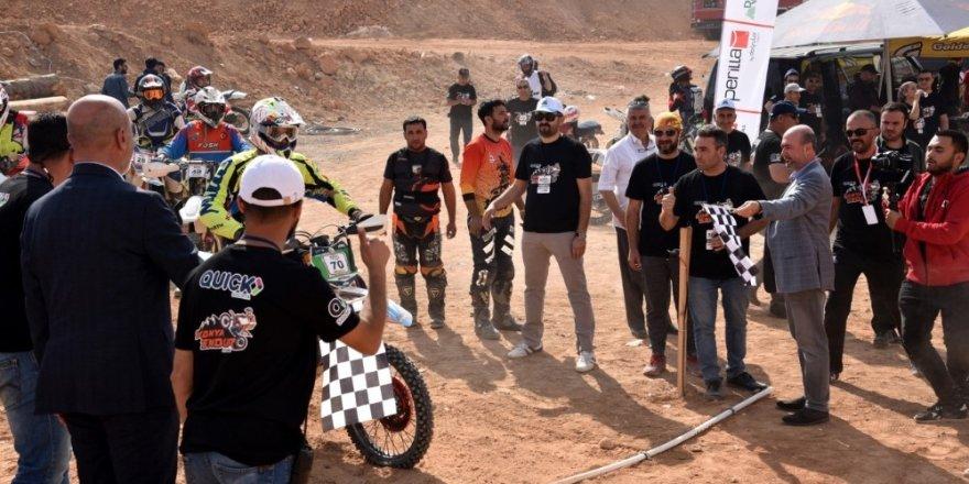 Sille, Konya Enduro Fest 2019 Yarışları'na ev sahipliği yaptı