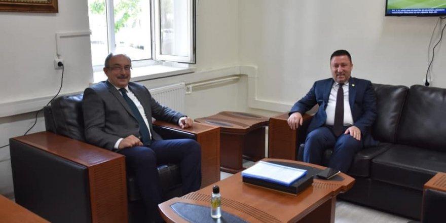 Başkan Beyoğlu'ndan Dışişleri Bakanlığı irtibat bürosuna ziyaret