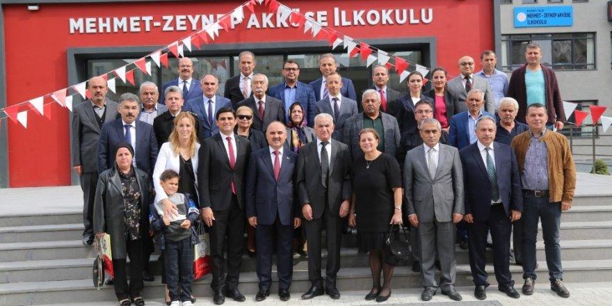 Vali Günaydın'dan Mehmet-Zeynep Akköse İlkokuluna Ziyaret