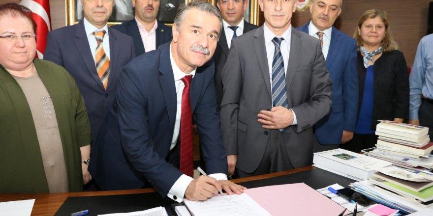 Amasya Üniversitesi ile Tarım ve Orman Bakanlığı 11. Bölge Müdürlüğünden iş birliği protokolü