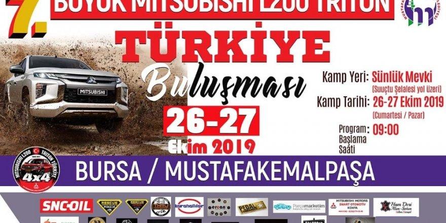 Off-Road tutkunları Mustafakemalpaşa'da buluşuyor