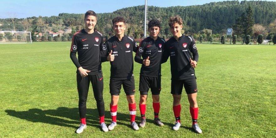 Konyaspor'un gençleri Hırvatistan karşısında