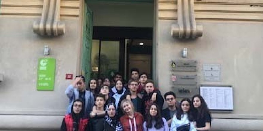 İhlas koleji öğrencileri, Alman dil ve kültürünün izini sürdüler