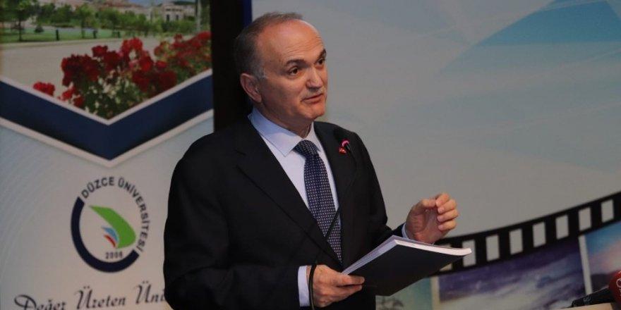 """Başkan Özlü """"Türkiye teknoloji ve bilgi üretmelidir"""""""