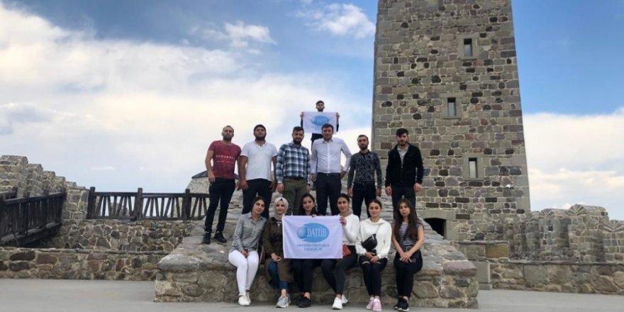 DATÜB Gençlik Kolları Ahıska'ya gezi düzenledi