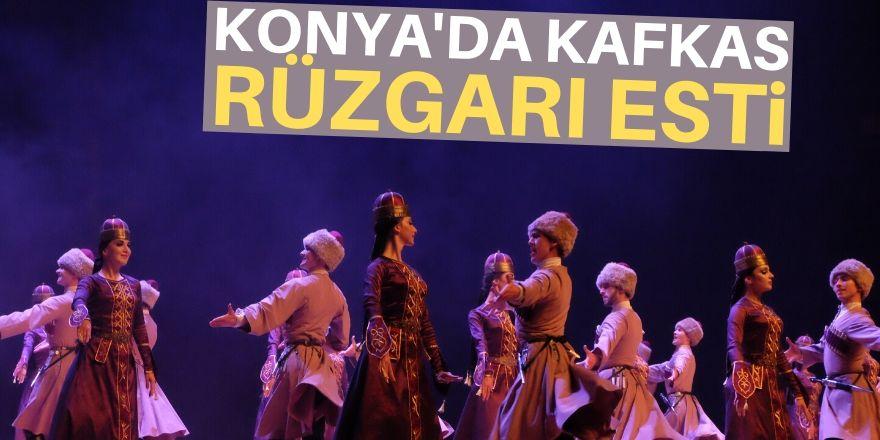 Konya'da renkli görüntüler