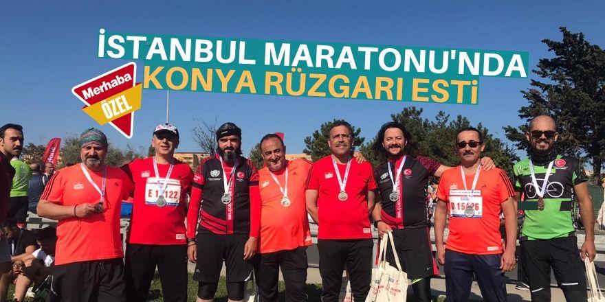 Konyalı koşucular İstanbul'da buluştu