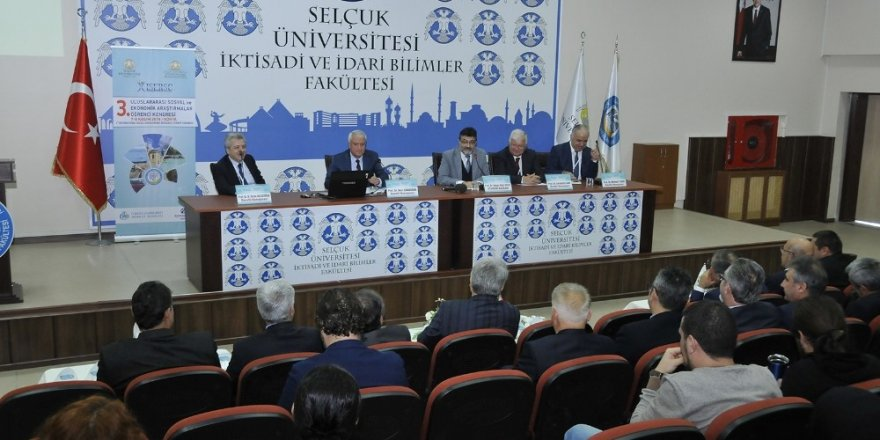3. Uluslararası Sosyal ve Ekonomik Araştırmalar Kongresi başladı