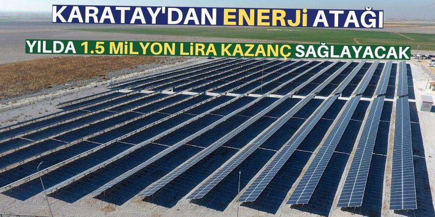 Güneş Enerjisi Santrali hizmette