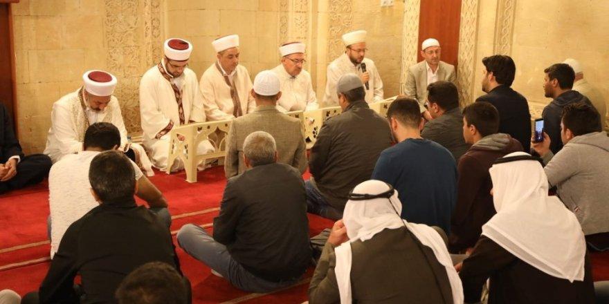 Mardin'de 3 dilde Mevlit Kandili idrak edildi