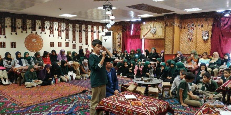 Öğrencilerden Mevlid-i Nebi programı