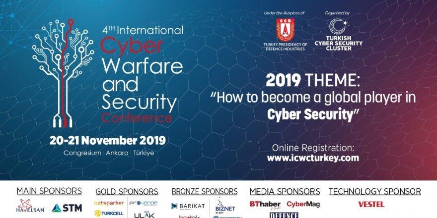 4. Siber Savaş ve Güvenlik Konferansı Ankara'da gerçekleşecek