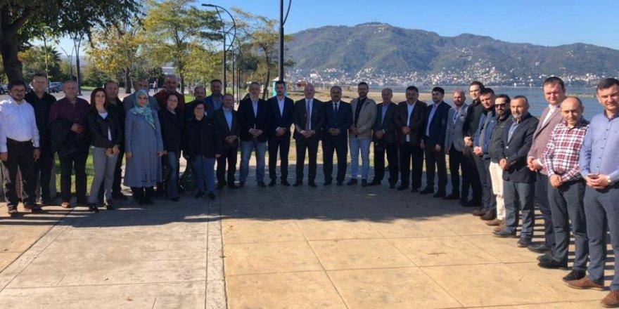 AK Parti'de eski ve yeni yöneticiler buluştu