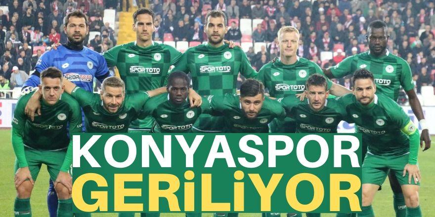 Konyaspor'da  gerileme dönemi