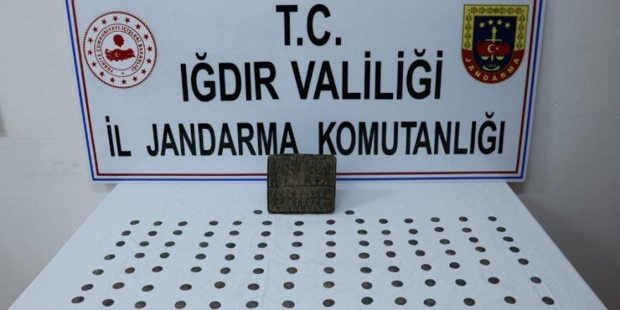 Iğdır'da tarihi eser kaçakçılığı: 4 gözaltı