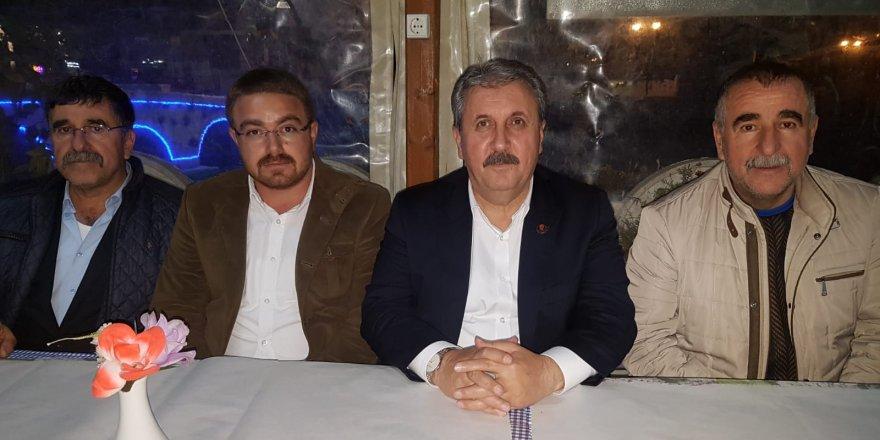 BBP Lideri partililerle buluştu