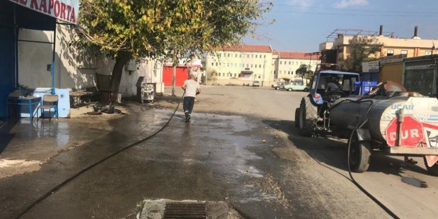 Sanayinin sokakları pırıl pırıl oldu