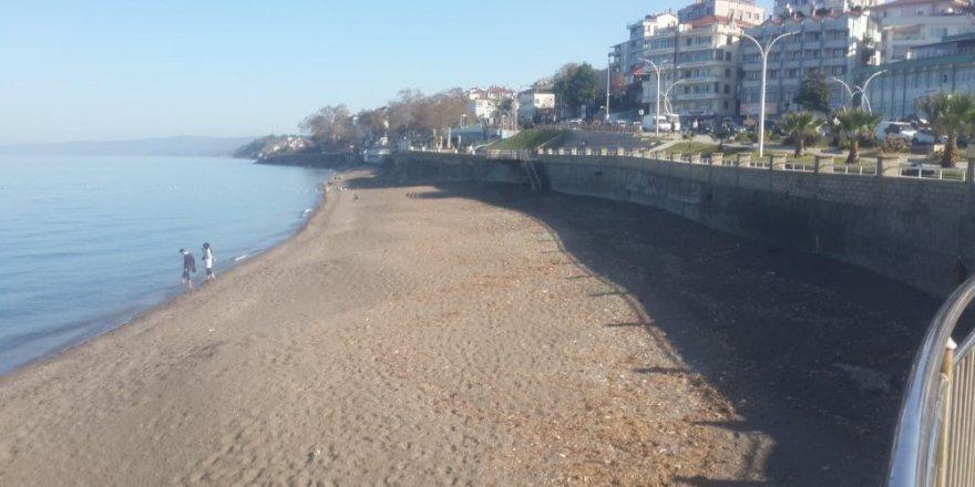Akçakoca'da plaj temizliği yapıldı