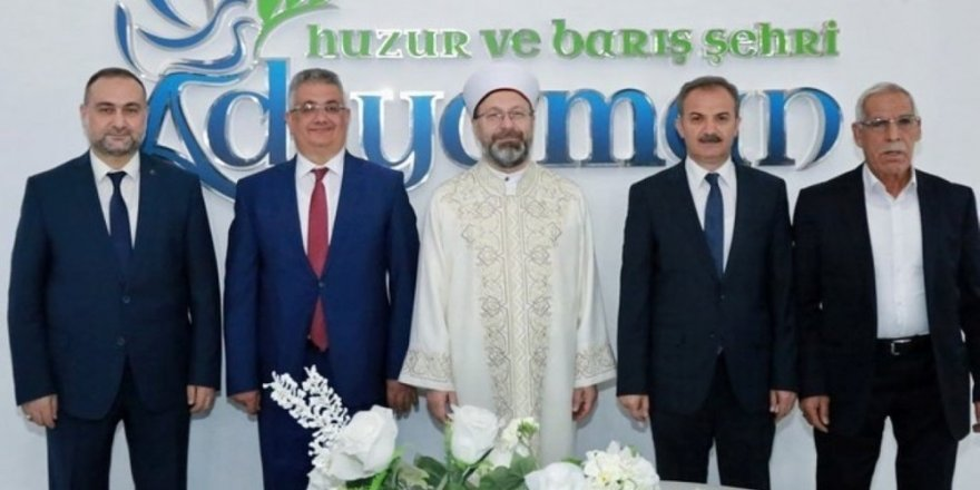 Diyanet İşleri Başkanı Erbaş'tan Başkan Kılınç'a ziyaret