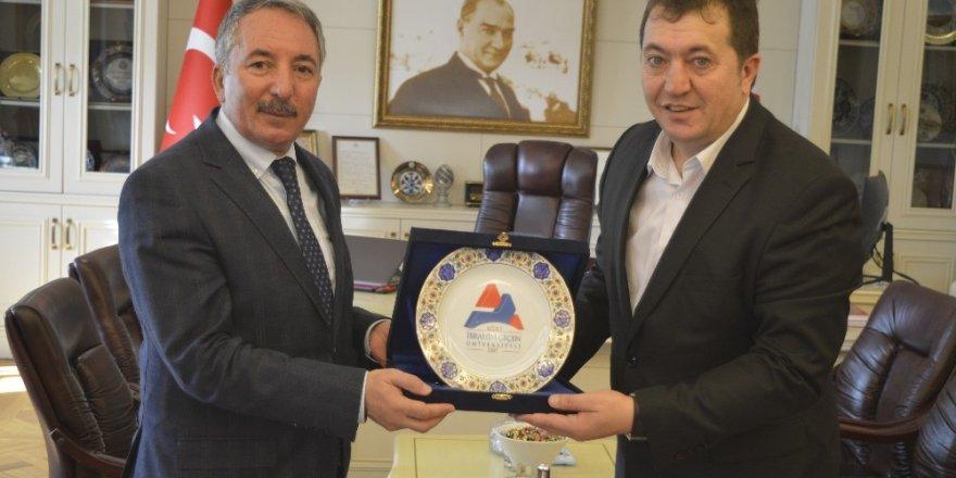 İHA Erzurum Bölge Müdürü Türkez, Ağrı'da Çeşitli Ziyaretlerde Bulundu