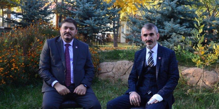 Yeniden Refah Partisi İl Başkanı Narin Develi'yi Ziyaret Etti