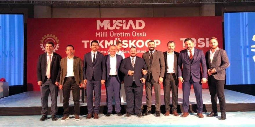 """MÜSİAD, Adana'ya """"Orta Ölçekli Sanayi Sitesi"""" kazandıracak"""