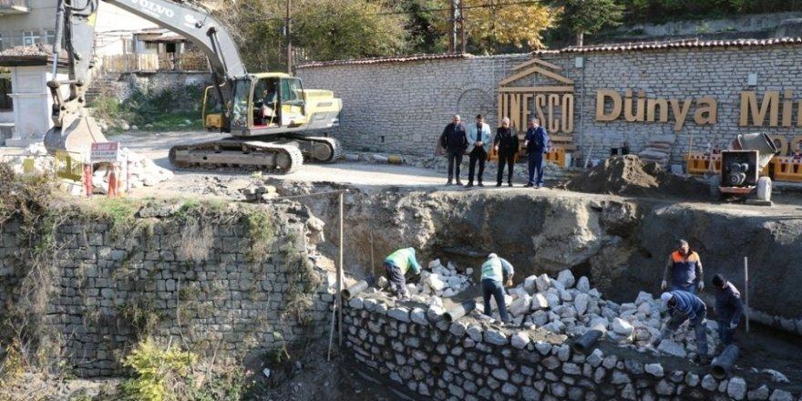 Safranbolu'da çalışmalar sürüyor