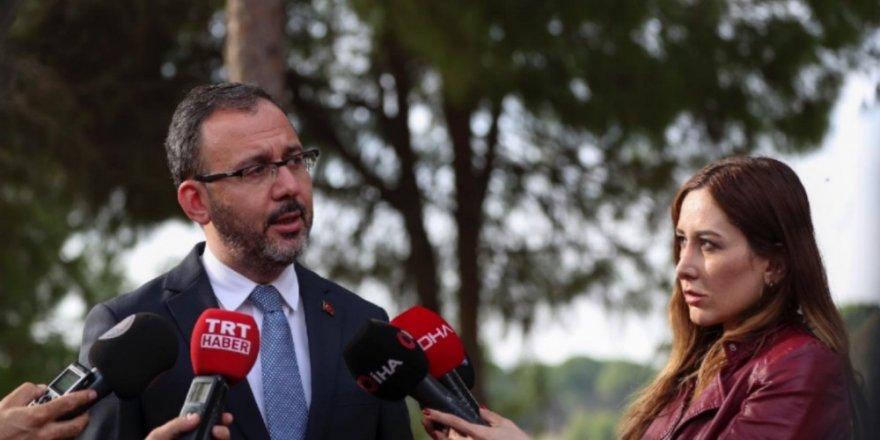 """Bakan Kasapoğlu: """"Proje desteği bütçesini arttıracağız"""""""