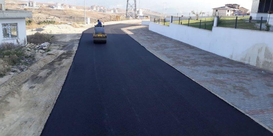 Karabük'te asfalt çalışması