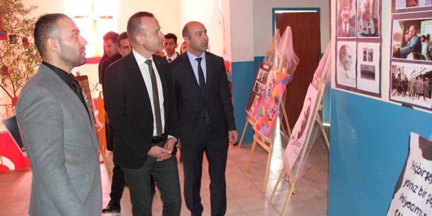Diyadin'de Atatürk Resim Sergisi