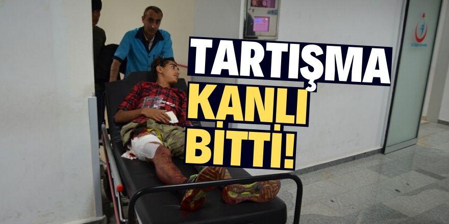 Aksaray'da bıçaklı kavga: 2 yaralı