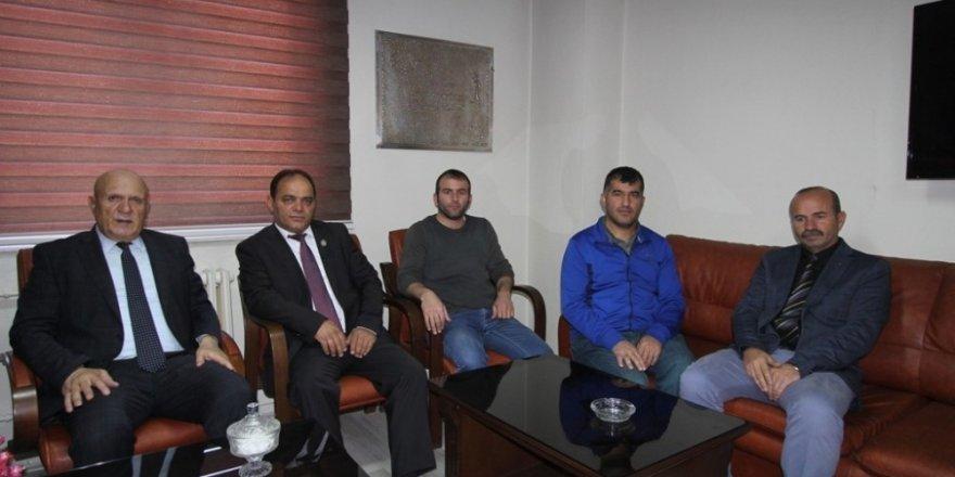 Başkan Pekmezci'den ŞAGDER'e ziyaret