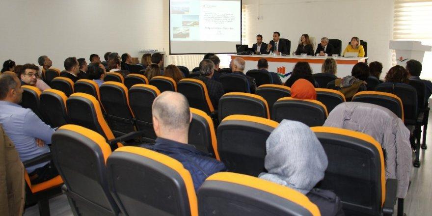 Elazığ'da Çevre ve Şehircilik İl Müdürlükleri Bölgesel İstişare toplantısı