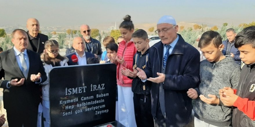 Tekvandonun Türkiye'deki kurucusu İsmet Iraz kabri başında anıldı