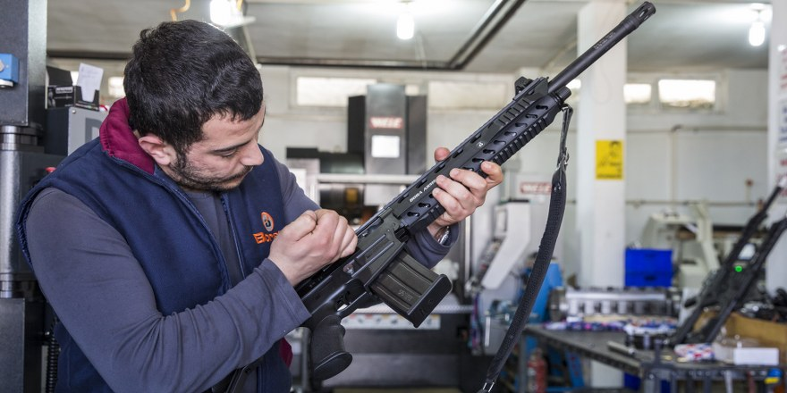Türk tüfekleri  rekora imza attı