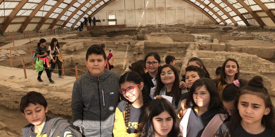 Hüma Okulları'dan Çatalhöyük gezisi
