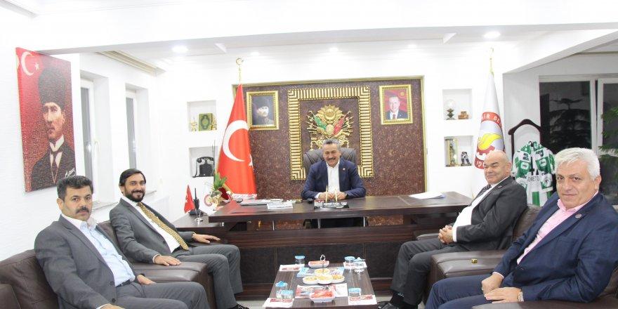 KONSİAD'tan Başkan  Mehmet Tutal'a ziyaret