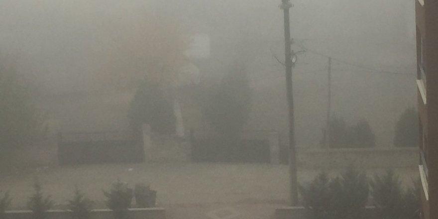 Kulu'da yoğun sis etkili oldu