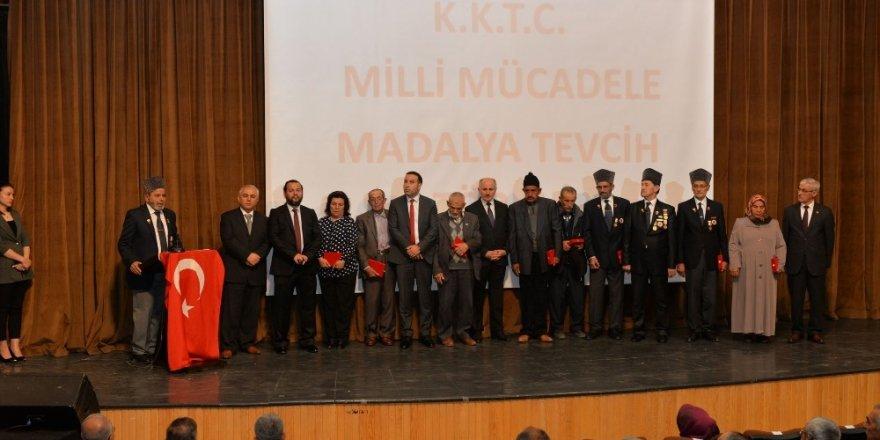 Karaman'da 10 Kıbrıs Gazileri için madalya tevcih töreni düzenlendi