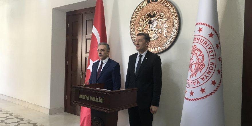 Bakan Selçuk, Konya'da il değerlendirme toplantısına katıldı