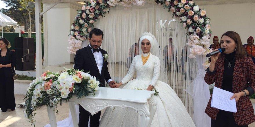 İşadamı Şükrü Doğan oğlunu evlendirdi