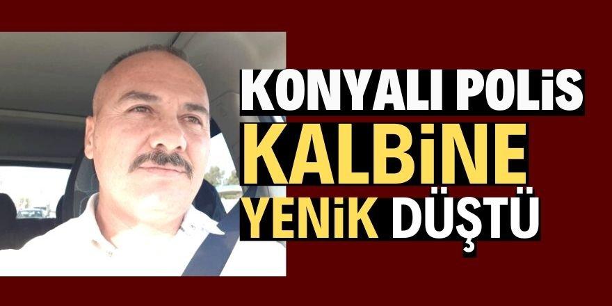 Konyalı polis memuru kalbine yenik düştü