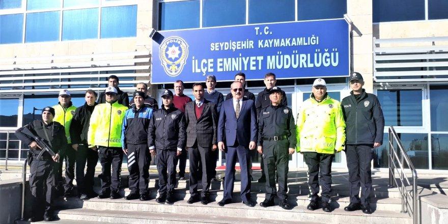 İl Emniyet Müdürü Seydişehir'de