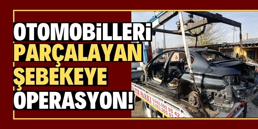 Konya'da oto hırsızlığı operasyonu