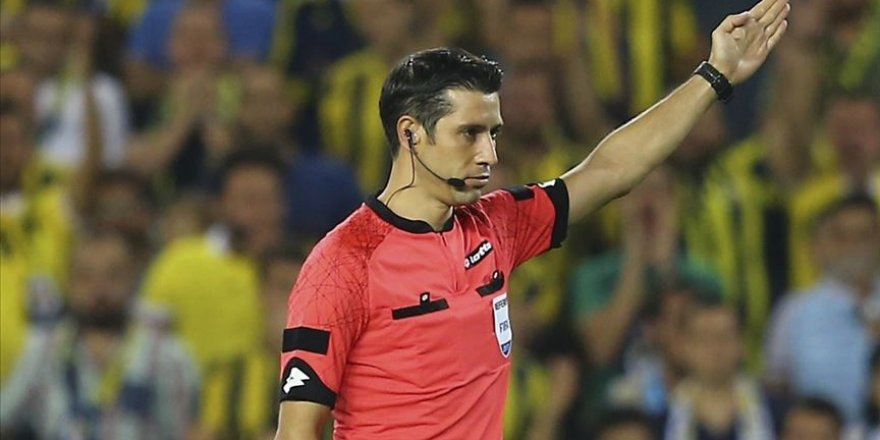 Gaziantep maçını Palabıyık yönetecek